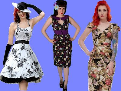 Rockabilly Pinup Blog: Style File: Rockabilly Wedding Guest Outfits
