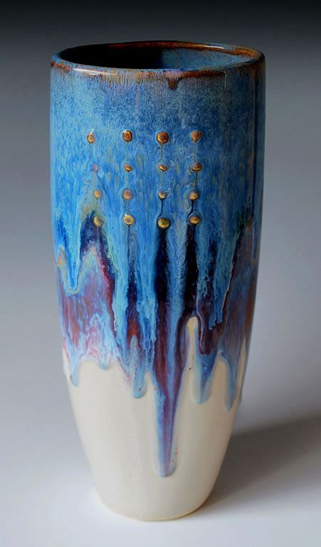 Daniel Hawkins (love the heavy application of glaze at the top that causes it to run down):