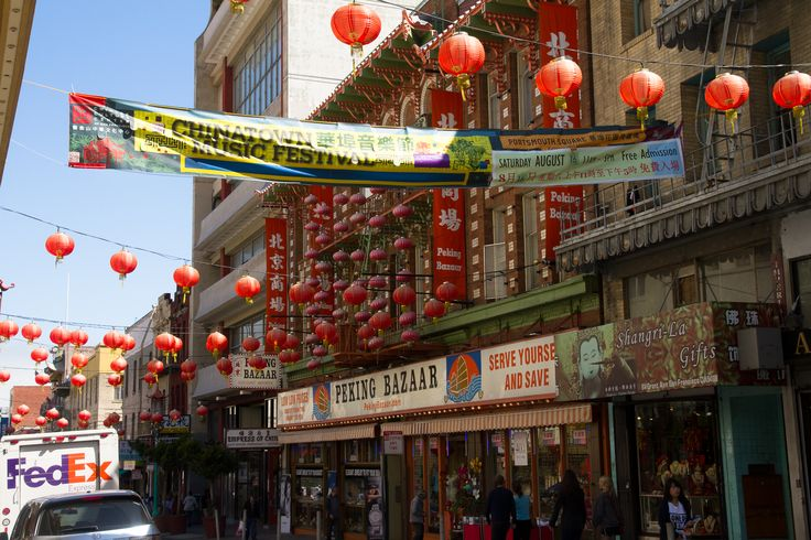 Chinatown in San Francisco, CA  http://hikersbay.com see also: http://www.pinterest.com/hikersbay/united-states-national-parks/