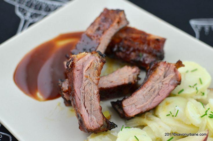 coaste de porc fragede si suculente la cuptor sau gratar