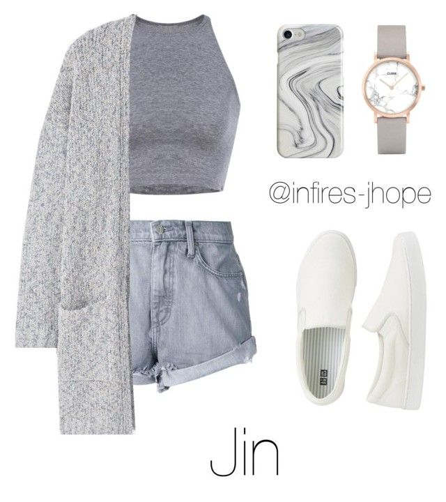 Grey Outfit with Jin by infires-jhope