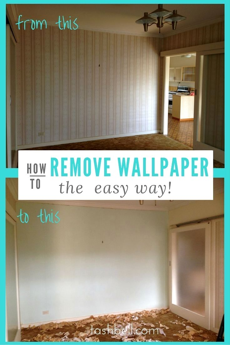 Use This Simple Method To Remove Wallpaper Much Less Work