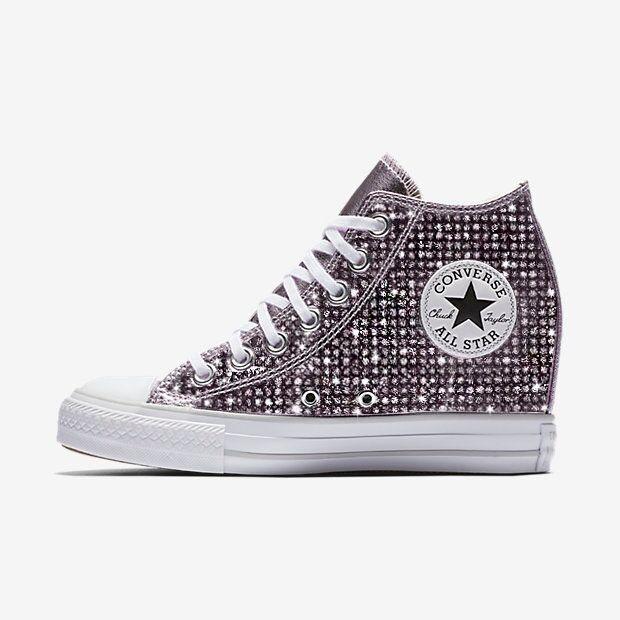 Custom Wedge Converse Chuck Taylor All Star Selene aad523e07
