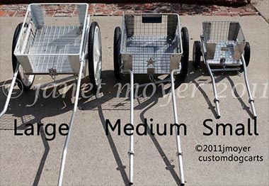 CUSTOM DOG CARTS for Drafting Dog Competition and Recreation by ...