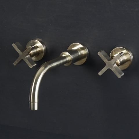 Designed by Studio Ore and The Watermark Collection, our range of brass bathroom taps and fittings offer a modern industrious style with timeless appeal. Each piece is made from solid hand-polished brass, which has been deliberately left unlacquered, so it naturally ages and develops a beautiful patina over time. All of our brass bathroom taps and fittings are hand made in the UK and available with a 6 week lead time.