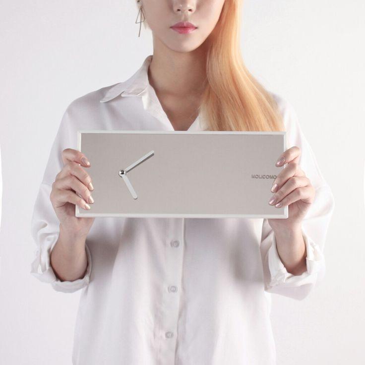 여성감성 모리코모 timefit 거울 시계 인테리어소품