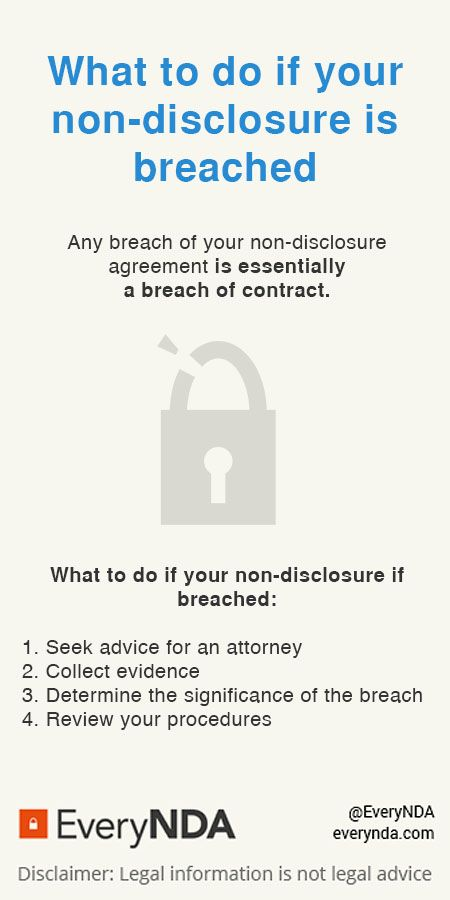 40 best Non disclosure Agreements images on Pinterest