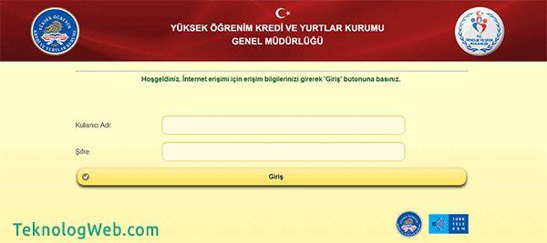 KYK wifi çıkış yapma ve doğrulama sayfası giriş yapma adresi wifi.kyk.gov.tr