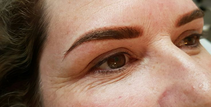 Ombre Brow tattoo by Covet Brows #browtattoo