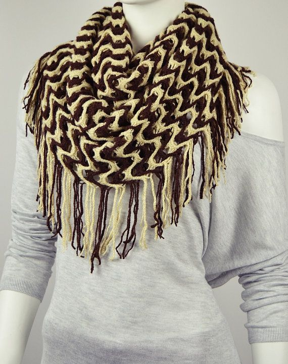 BUY 1 & GET 1 FREE  Brown Cream Knit Fabric by LIFEPARTNER on Etsy, $17.95