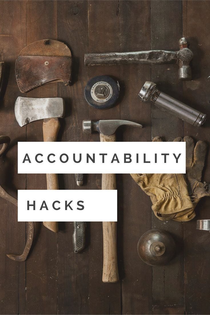 Accountability Hacks: Join the free goal-setting challenge and get accountability hacks...visit http://www.moinlabs.com/goal-setting-challenge/