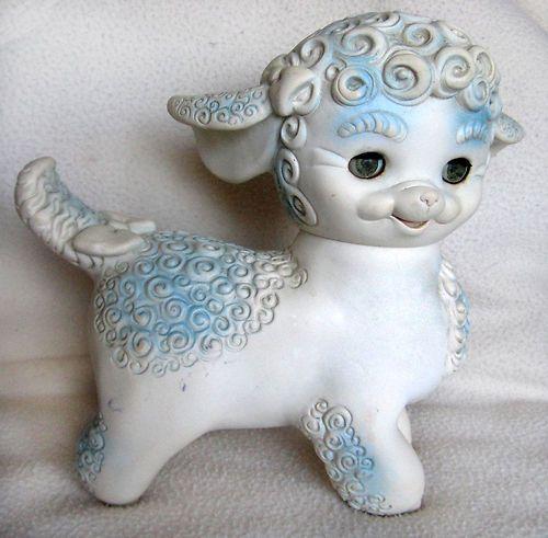 Edward Mobley Rubber Sheep Lamb Squeak Toy Vintage 1960 S