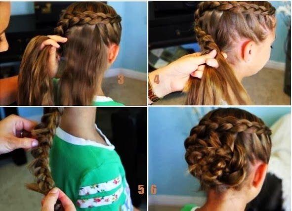 coupe de cheveux petite fille mariage