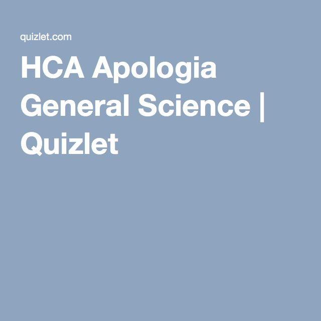 HCA Apologia General Science | Quizlet