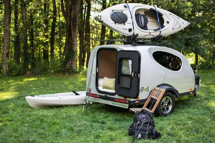 There are many small RVs available: pop-ups, teardrop ...