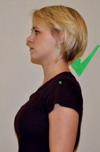 Exercises to stop the forward neck posture.