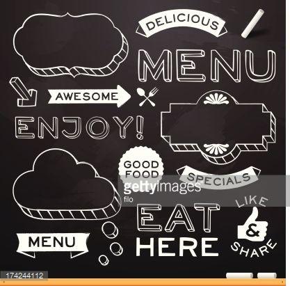 Best 25+ Chalkboard restaurant ideas on Pinterest | Menu design ...