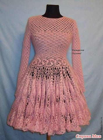 crochet dress charts and diagrams