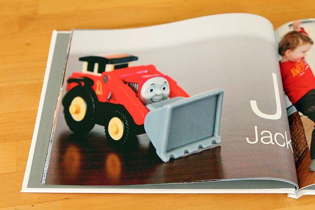 Personalized Alphabet Book