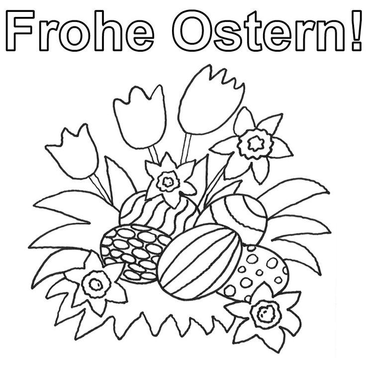 68 besten Ostern Ausmalbilder Bilder auf Pinterest | Kostenlose ...