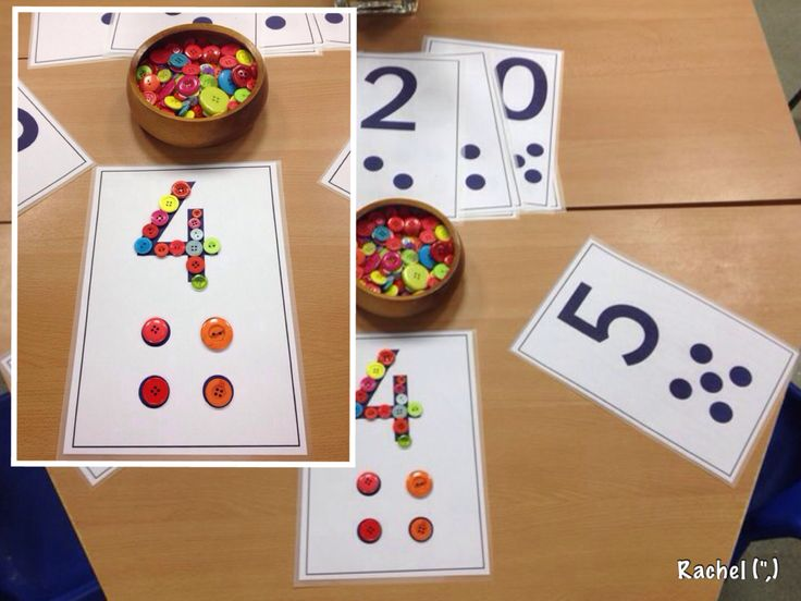 Button numbers
