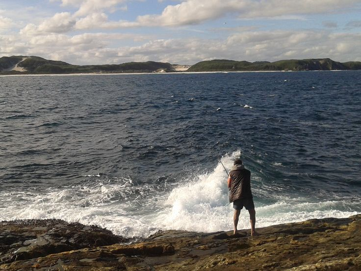 DH fishing at Denmark