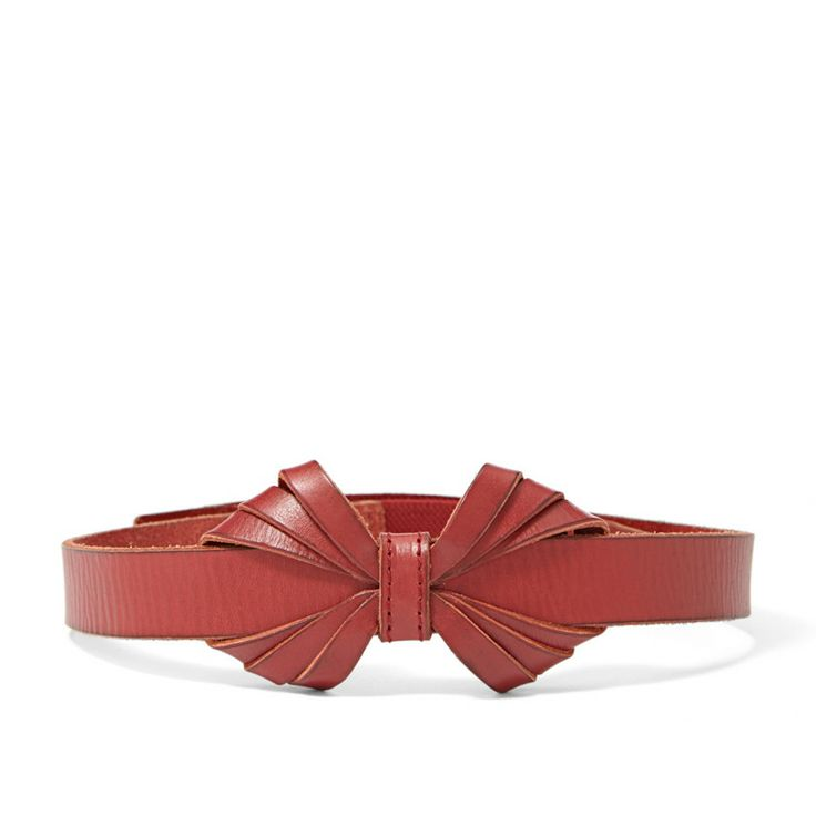 Fossil Leather Bow Belt BT4119 | FOSSIL®