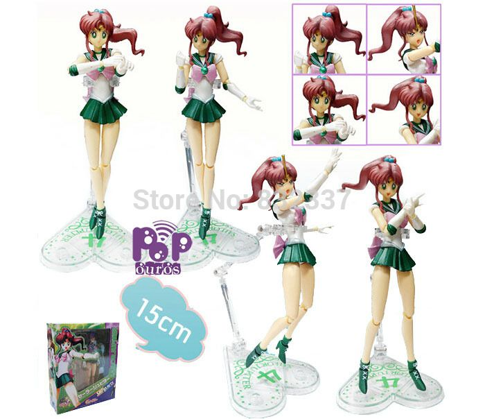 Sailor Moon anime figure PVC Sailor Jupiter Action Figure Kino Makoto toys For Children Christmas Gift //Price: $US $19.80 & FREE Shipping //     #toys