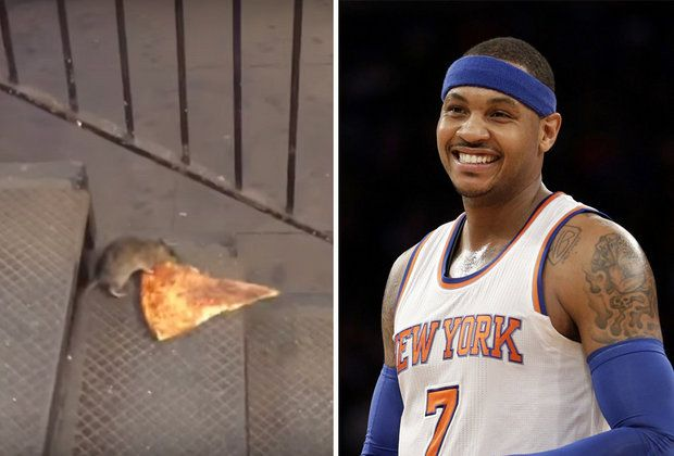 Carmelo Anthony, Pizza Rat up for 2016 Webby Awards: See list of nominees