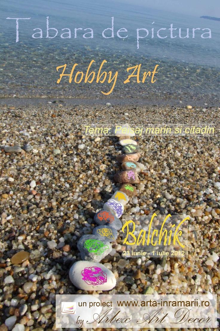 Tabara de pictura la Balcic in perioada 23 iunie-1 iulie 2012