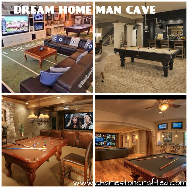 dream home feature -  man cave