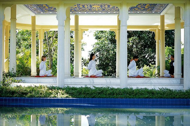 Visit Ananda Spa, set in the most breathtaking scenery in the Himalayas, this yogic detoxification course promises to balance your three doshas, through a bespoke yoga package supplemented with massages, meditation sessions and a Ayurvedic diet.