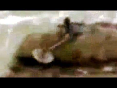 Mermaid Sighting in Kiryat Yam, Israel   Real Paranormal Videos