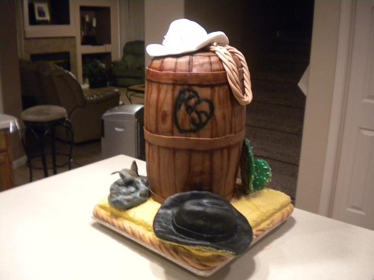 Western+Theme+Wedding+Cake