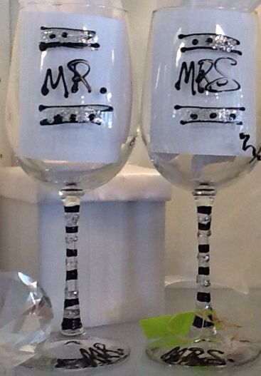wedding collection - Glassware Creations by Laurie