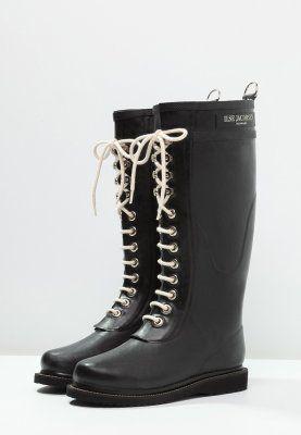 Chaussures Ilse Jacobsen Bottes en caoutchouc naturel - black noir: 135,00 € chez Zalando (au 17/11/15). Livraison et retours gratuits et service client gratuit au 0800 740 357.