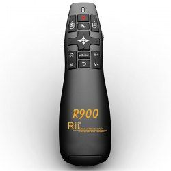 $19.49 Rii R900 2.4GHz Mini Wireless Air Mouse/Laser Pointer Presenter for MK802 II/Tablet PC/TV Box