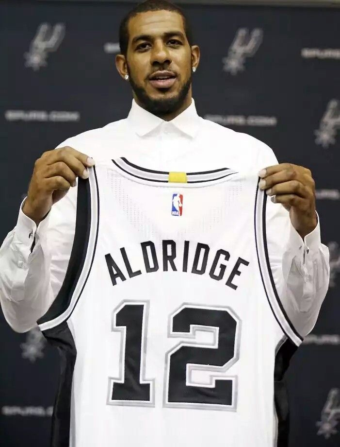 Spurs LaMarcus Aldridge