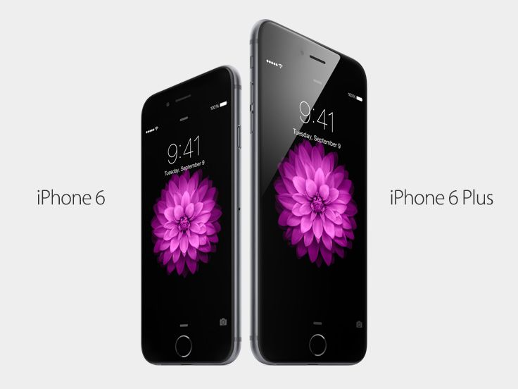 iPhone6 and iPhone6Plus. The best iPhones we've ever made.