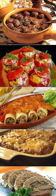 Быстрые и вкусные блюда из говяжьего фарша