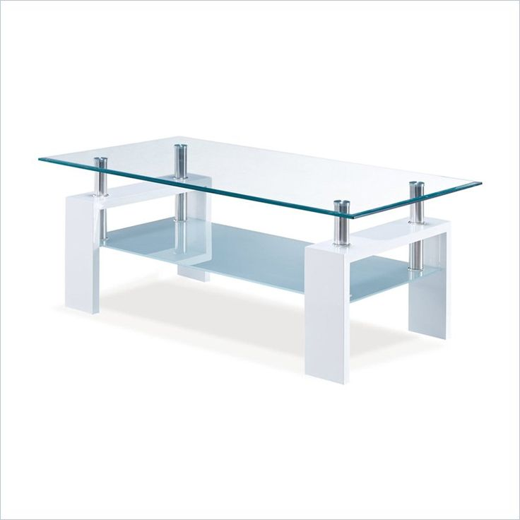 Best Global Furniture Frosted Glass Coffee Table In Glossy 400 x 300
