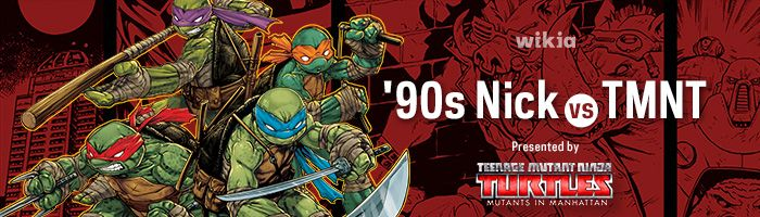 I just voted on Teenage Mutant Ninja Turtles vs 90s Nickelodeon Bracket Tournament at http://turtlepedia.wikia.com/wiki/User_blog:TheBlueRogue/Teenage_Mutant_Ninja_Turtles_vs_90s_Nickelodeon_Bracket_Tournament