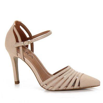 Sapato Scarpin Feminino Lara - Areia
