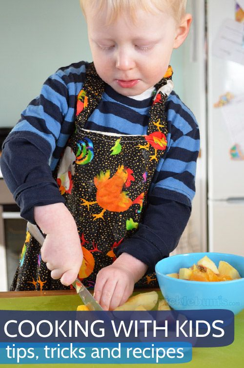 Cooking with kids - tips, tricks and recipe ideas for a fun filled family weekend of cooking with your kids.