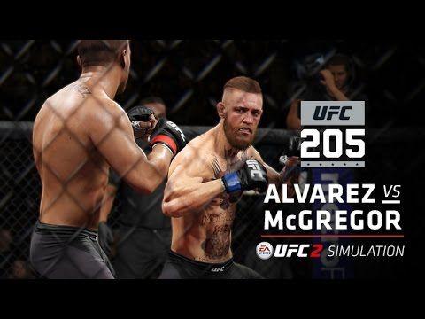 UFC (Ultimate Fighting Championship): UFC 205   EA SPORTS UFC 2 Simulation – Alvarez vs McGregor