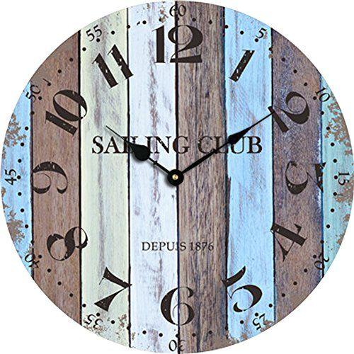 50 beach wall clocks check out the absolute best coastal and beach wall clocks