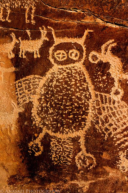 The Owl | Nine Mile Canyon, Utah - Randy Langstraat