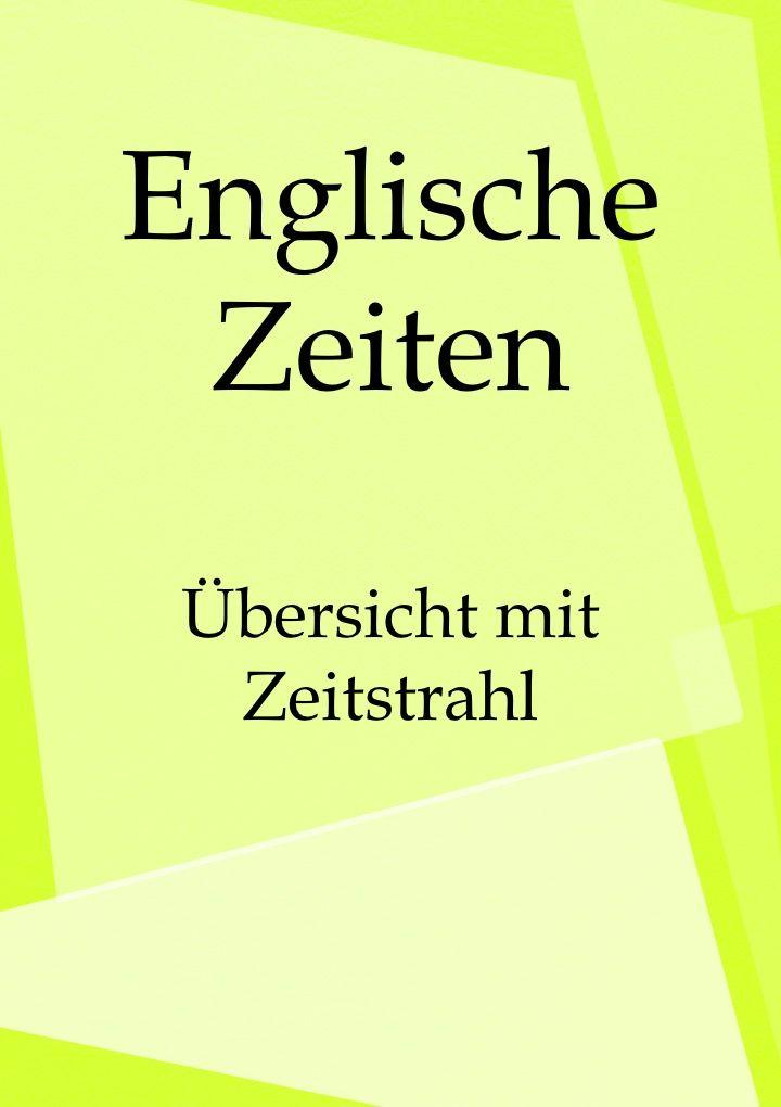Englisch lernen Zeiten