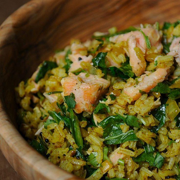 Leftover Salmon Kedgeree recipe on Food52