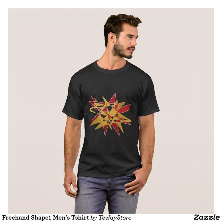 Freehand Shape1 Men's Tshirt